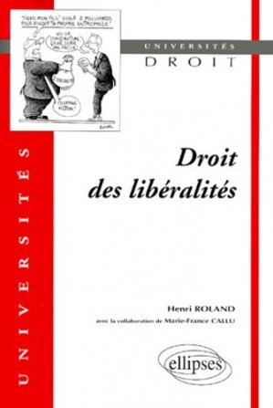 Droit des libéralités - Ellipses - 9782729801755 -