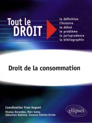 Droit de la consommation - Ellipses - 9782729838973 -