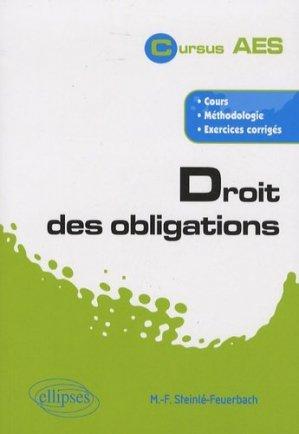 Droit des obligations - Ellipses - 9782729839710 -