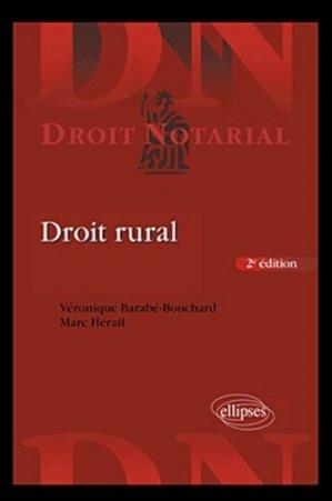Droit rural - ellipses - 9782729870478 -