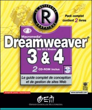 Dreamweaver 3 et 4 - osman eyrolles multimedia - 9782746403123 -