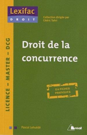 Droit de la concurrence - Bréal - 9782749531342 -