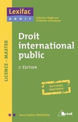 Droit international public. 2e édition - Bréal - 9782749538273 -