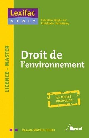 Droit de l'environnement - bréal - 9782749538396 -
