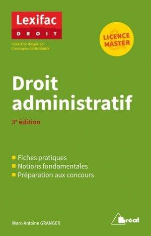 Droit administratif. 3e édition - Bréal - 9782749539720 -
