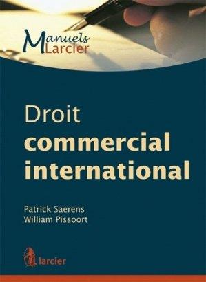 Droit commercial international - Larcier - 9782804451943 -