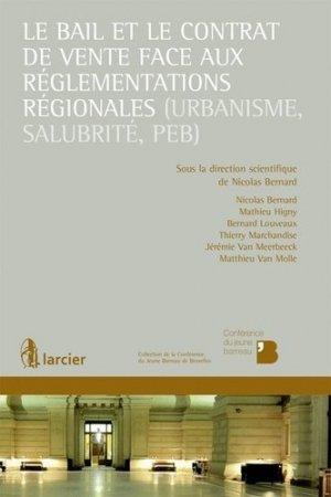 Droit du bail - Larcier - 9782804477943 -