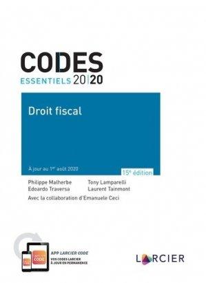 Droit fiscal - Éditions Larcier - 9782807923614 -