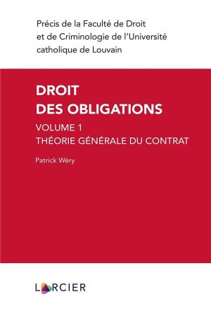 Droit des obligations - Éditions Larcier - 9782807923720 -