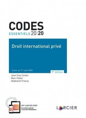 Droit international privé - Éditions Larcier - 9782807923942 -