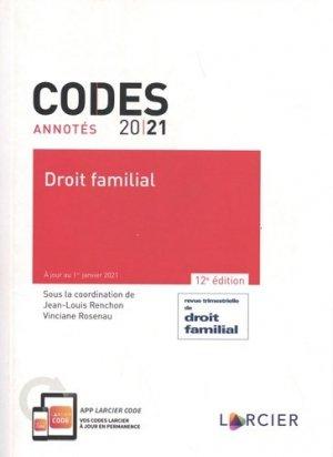 Droit familial - Éditions Larcier - 9782807926516 -
