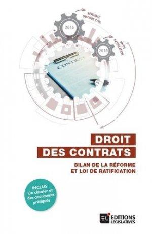 Droit des contrats - legislatives - 9782850864315 -