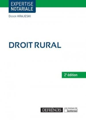 Droit rural - defrenois - 9782856232576 -