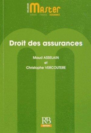 Droit des assurances - La Revue Banque - 9782863256190 -