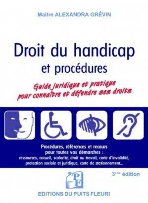 Droit du handicap - puits fleuri - 9782867396472 -