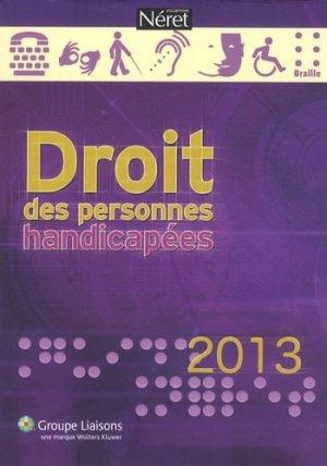 Droit des personnes handicapées 2013 - liaisons - 9782878809428 -