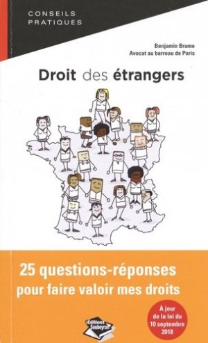 Droit des étrangers : tout ce que je dois savoir - Editions dans la poche - 9791093106458 -