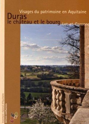 Duras, le château et le bourg - confluences - 9782355271762 -