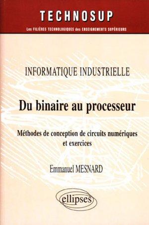 Du binaire au processeur - ellipses - 9782729820107 -