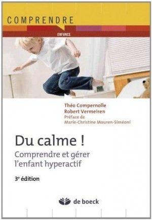 Du calme ! - de boeck superieur - 9782804184803 - majbook ème édition, majbook 1ère édition, livre ecn major, livre ecn, fiche ecn