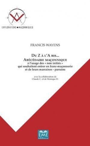 Du Z à l'A bis... - Editions Modulaires Européennes InterCommunication SPRL - 9782806609908 -