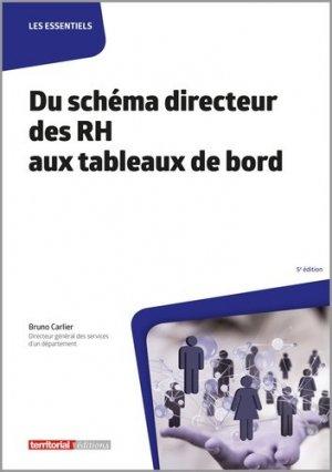 Du schéma directeur des RH aux tableaux de bord - territorial - 9782818617892 -