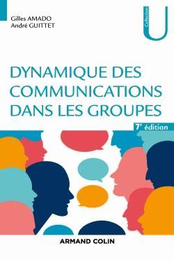 Dynamique des communications dans les groupes - armand colin - 9782200619473 -