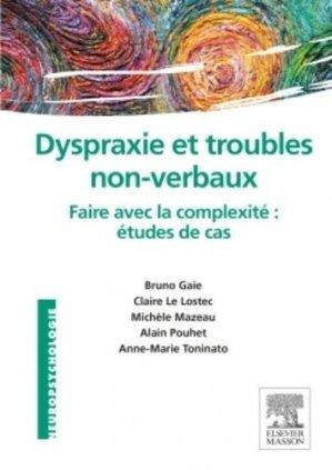 Dyspraxie et troubles non-verbaux - elsevier / masson - 9782294739804 -