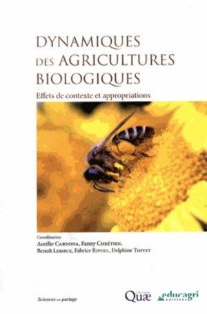 Dynamiques des agricultures biologiques - quae  - 9782759221592 -