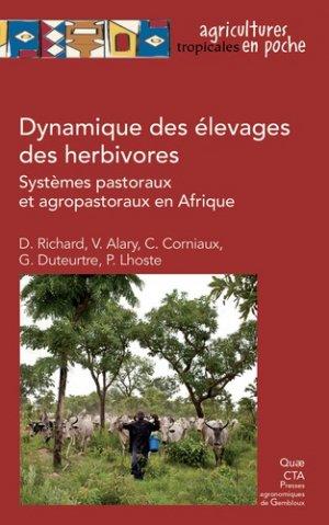Dynamique de l'élevage des herbivores - quae - 9782759228942
