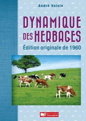 Dynamique des herbages - france agricole - 9782855575797 -