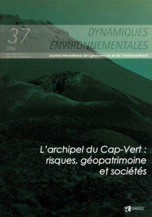 Dynamiques environnementales, N°37/2016 - presses universitaires de bordeaux - 9791030000672 -