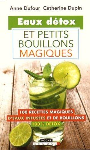 Eaux détox et petits bouillons magiques - leduc - 9791028501693 -