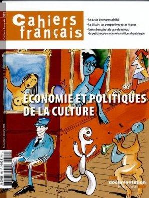 Economie et politiques de la culture - La Documentation Française - 3303330403822 -