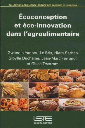 Ecoconception et éco-innovation dans l'agroalimentaire - iste - 9781784055820 -