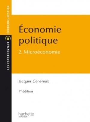 Economie politique - Hachette Supérieur - 9782011403001 -