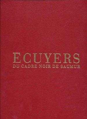 Écuyers du cadre noir de Saumur - flammarion - 9782082014670 -