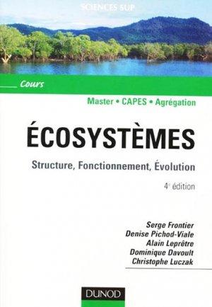 Écosystèmes - dunod - 9782100519354 -