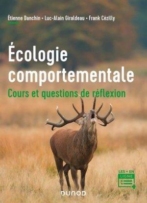 Écologie comportementale - Dunod - 9782100827015 -