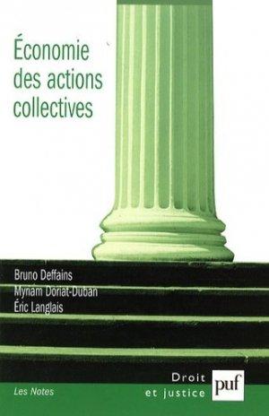 Economie des actions collectives - puf - presses universitaires de france - 9782130566397 -