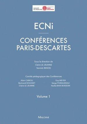 ECNi Conférences Paris Descartes - maloine - 9782224035495 -
