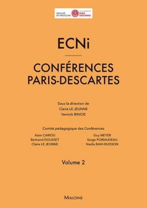 ECNi - Conférences Paris-Descartes 2016-2017 - maloine - 9782224035563 - livre ecn 2020, livre ECNi 2021, collège pneumologie, ecn pilly, mikbook, majbook, unithèque ecn, college des enseignants, livre ecn sortie