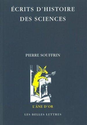 Écrits d'histoire des sciences - les belles lettres - 9782251420479 -