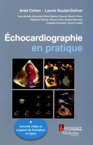 Échocardiographie en pratique - lavoisier msp - 9782257206497