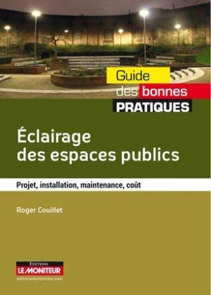 Éclairage des espaces publics - le moniteur - 9782281117547 -