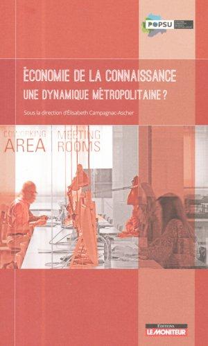 Economie de la connaissance - le moniteur - 9782281119640 -