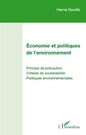 Economie et politiques de l'environnement - l'harmattan - 9782296112919 -