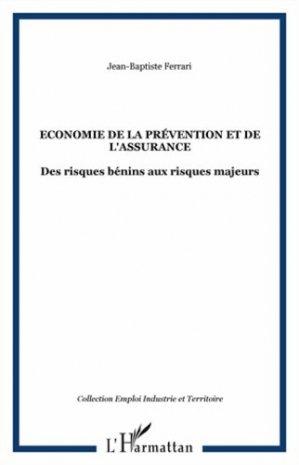 Economie de la prévention et de l'assurance - l'harmattan - 9782296543713 -