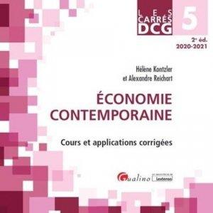Economie contemporaine DCG 5 - gualino - 9782297091527 -