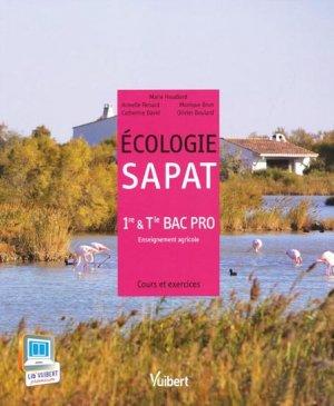 Écologie SAPAT - vuibert - 9782311011968 -